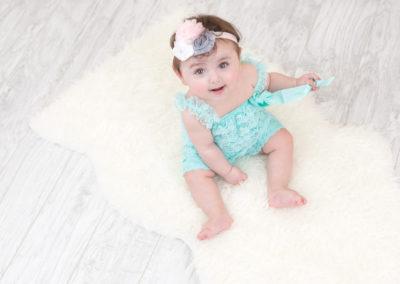 6 Monate Alt baby