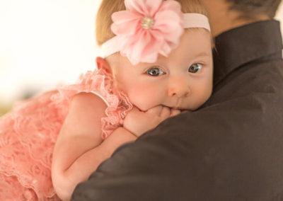 Herziges Baby Maedchen
