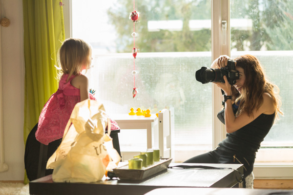 Baby Fotoshooting on location